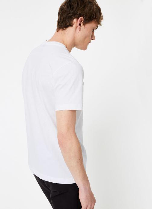 Tøj Champion Champion Large Script Logo Crewneck T-Shirt Hvid se skoene på