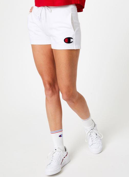 Vêtements Champion Champion C-Logo Shorts Blanc vue détail/paire