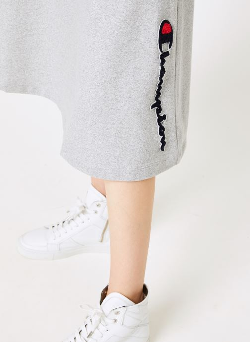Vêtements Champion Champion Vertical Script Logo Skirt Gris vue face