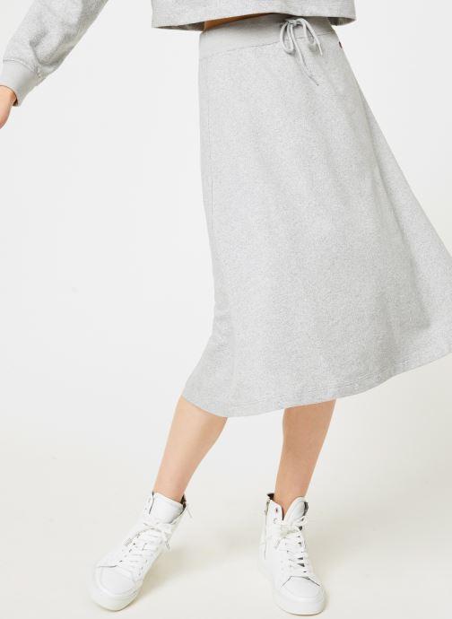 Vêtements Champion Champion Vertical Script Logo Skirt Gris vue détail/paire