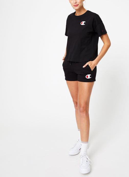 Kleding Champion Champion C-Logo Crewneck T-Shirt Zwart onder
