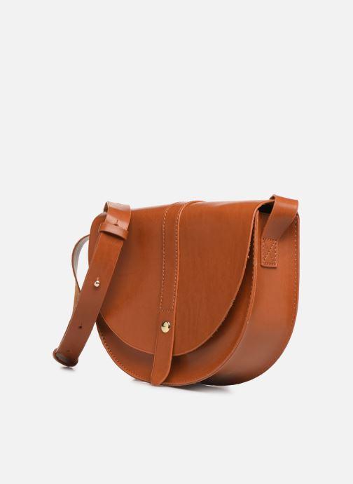 Handväskor I Love Shoes LILUNE Brun bild av skorna på