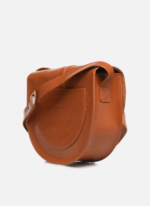 Handtaschen I Love Shoes LILUNE braun ansicht von rechts