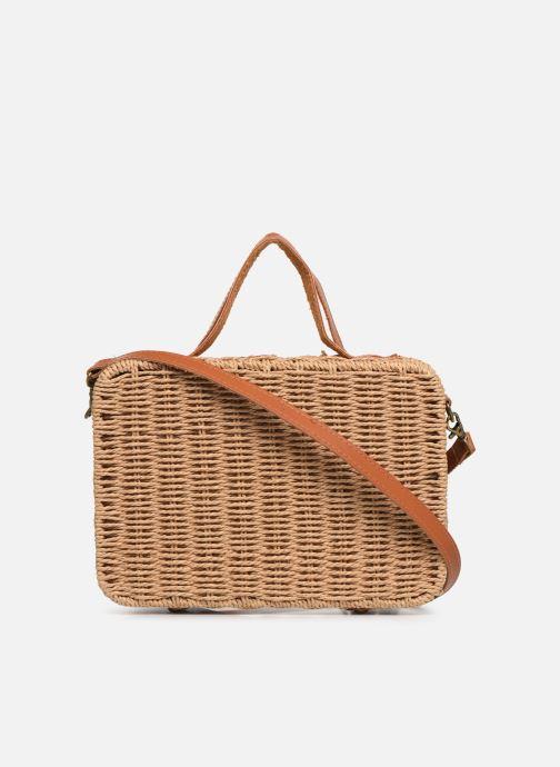 Handtaschen I Love Shoes LILISE Osier braun ansicht von vorne