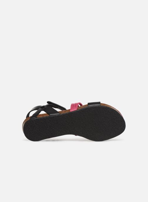 Sandalen Kickers Picnic V Zwart boven
