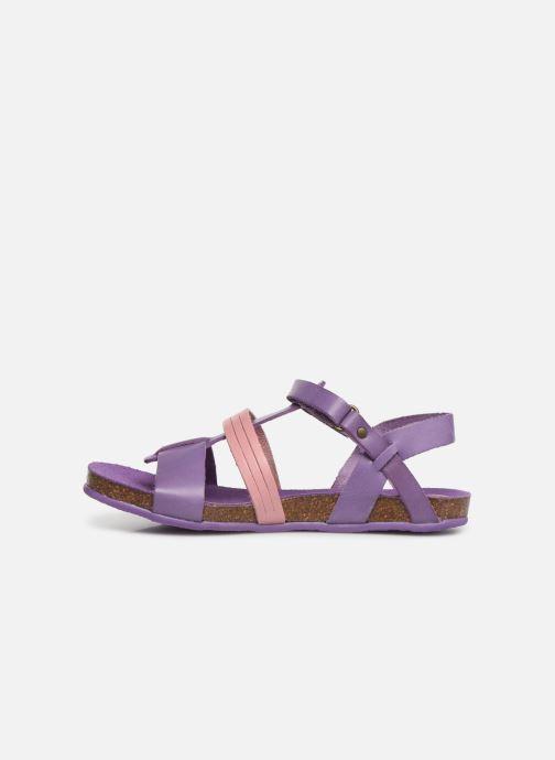 Sandales et nu-pieds Kickers Picnic V Violet vue face