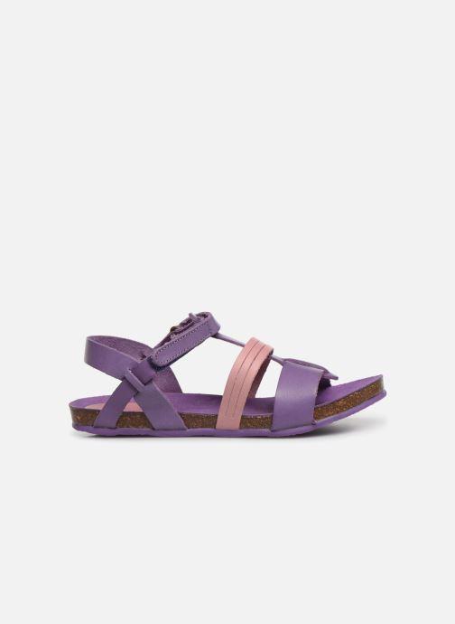 Sandales et nu-pieds Kickers Picnic V Violet vue derrière