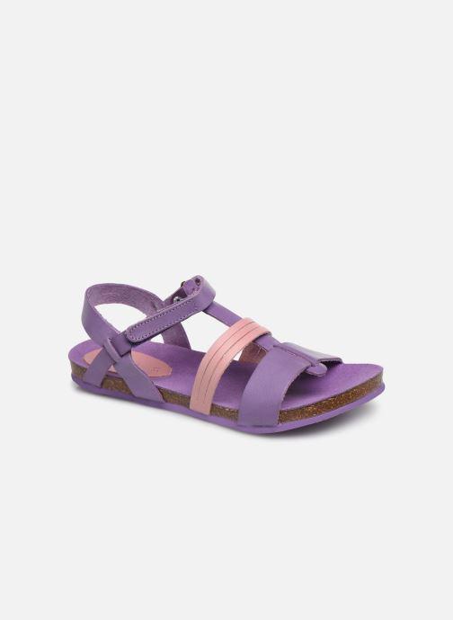 Sandales et nu-pieds Kickers Picnic V Violet vue détail/paire