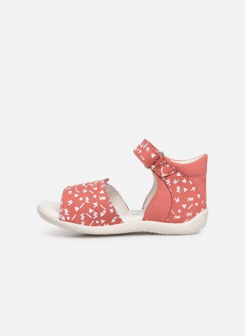 Sandales et nu-pieds Kickers Bazooka Rose vue face