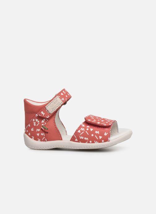 Sandales et nu-pieds Kickers Bazooka Rose vue derrière