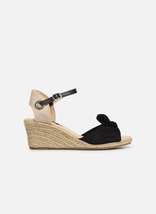 Alpargatas I Love Shoes KISOL Negro vistra trasera