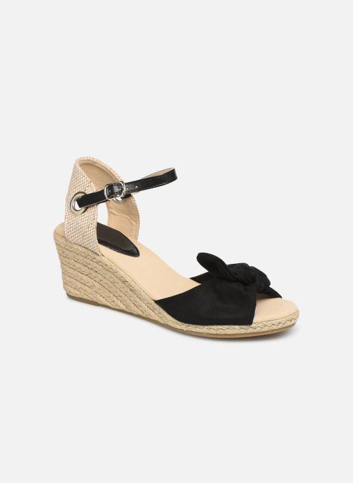 Alpargatas I Love Shoes KISOL Negro vista de detalle / par