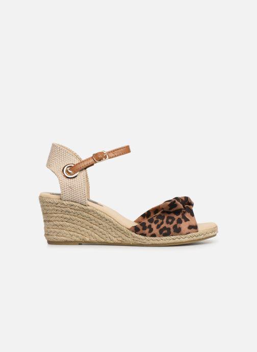 Alpargatas I Love Shoes KISOL Marrón vistra trasera