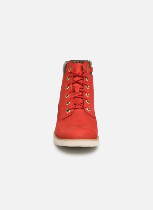 Bottines et boots Timberland Radford 6in Boot Rouge vue portées chaussures