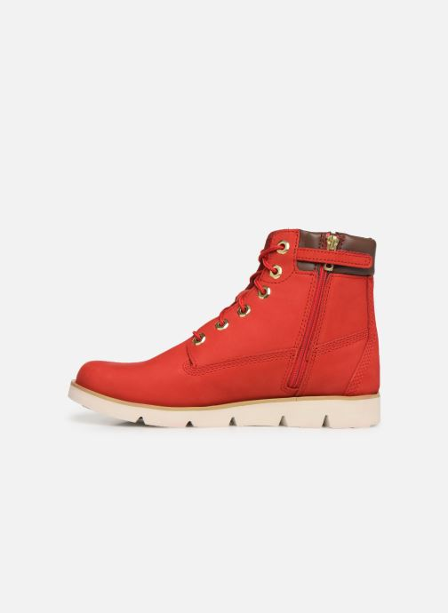 Bottines et boots Timberland Radford 6in Boot Rouge vue face