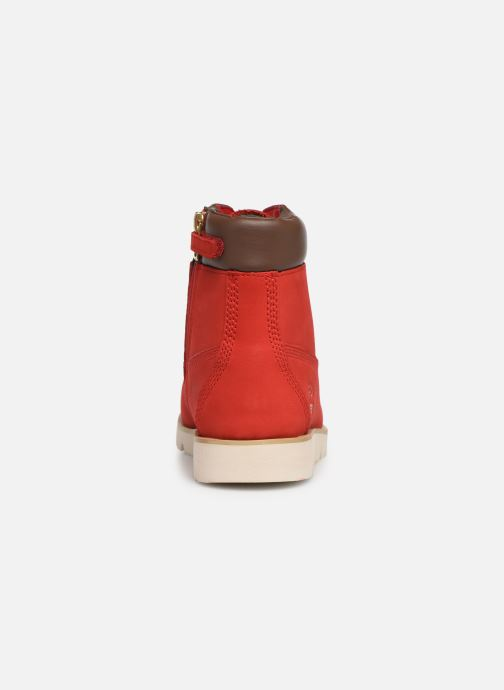 Ankle boots Timberland Radford 6in Boot Red view from the right