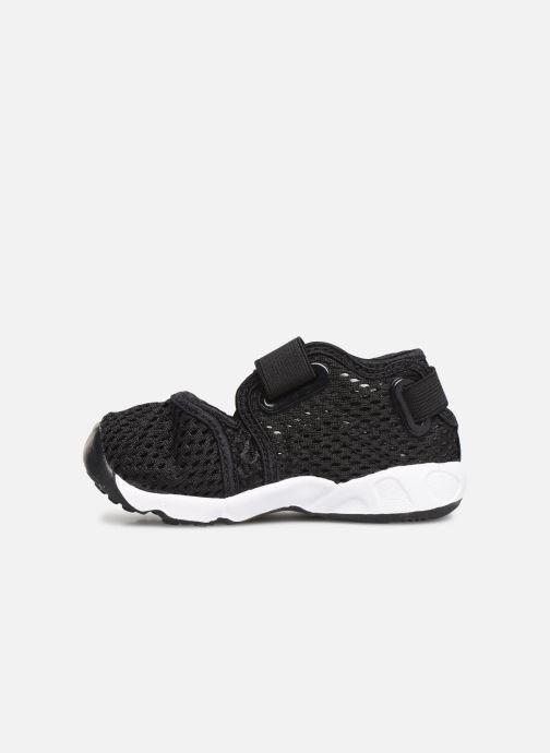Sandalias Nike Little Rift (Td Boys) Negro vista de frente