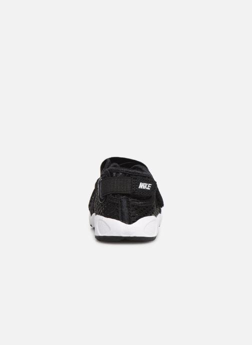 Sandalias Nike Little Rift (Td Boys) Negro vista lateral derecha