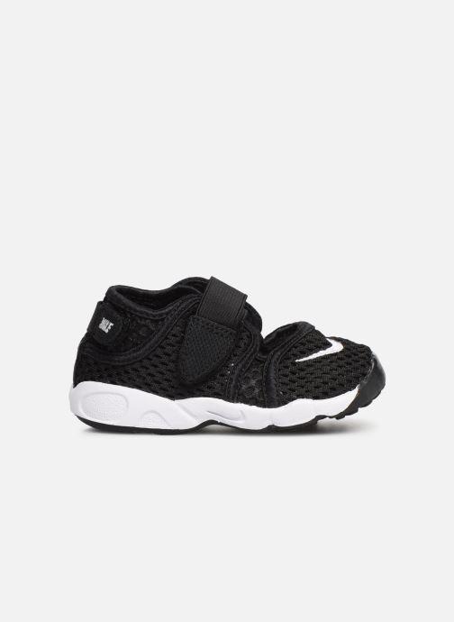 Sandales et nu-pieds Nike Little Rift (Td Boys) Noir vue derrière