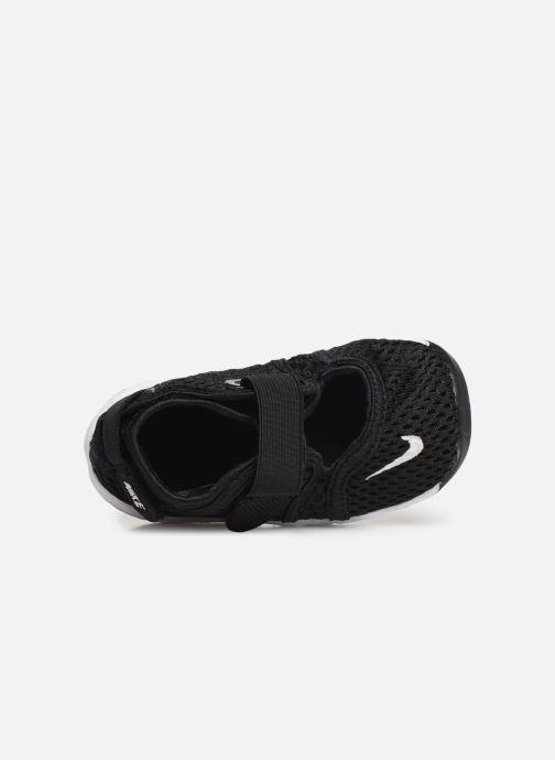 Sandalias Nike Little Rift (Td Boys) Negro vista lateral izquierda