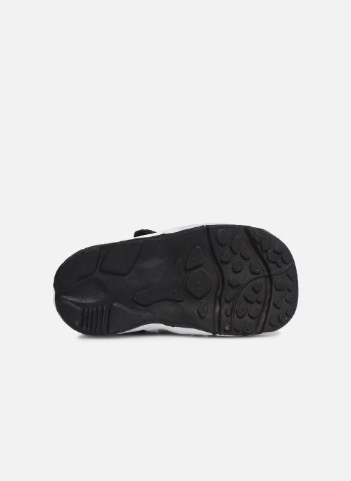 Sandales et nu-pieds Nike Little Rift (Td Boys) Noir vue haut