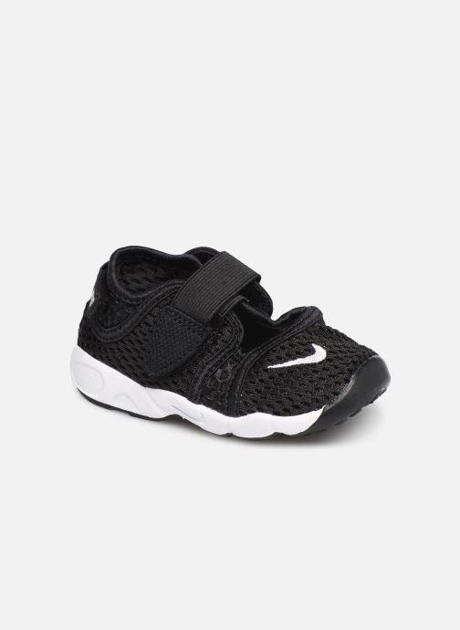 Sandalias Nike Little Rift (Td Boys) Negro vista de detalle / par