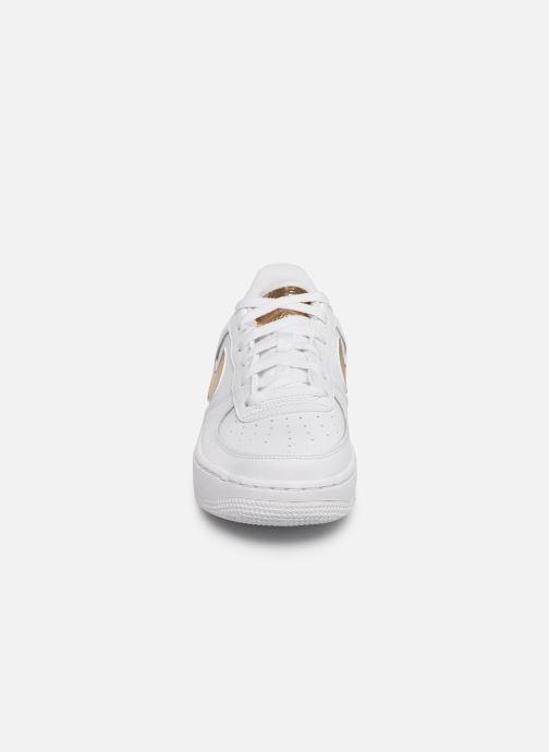 Sneaker Nike Nike Air Force 1 Ep (Gs) weiß schuhe getragen