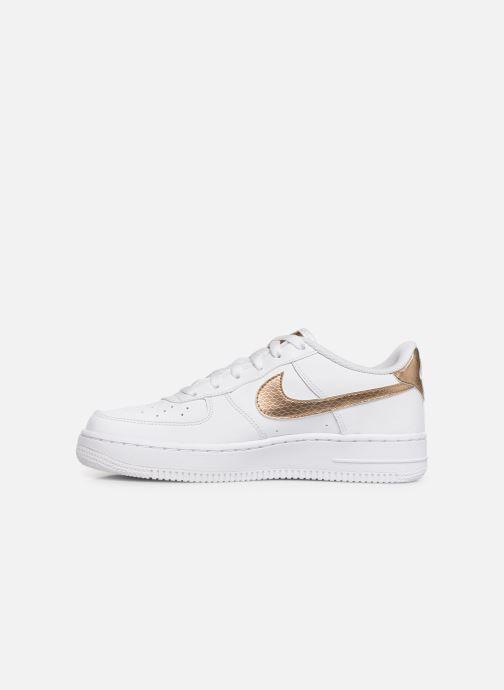 Baskets Nike Nike Air Force 1 Ep (Gs) Blanc vue face