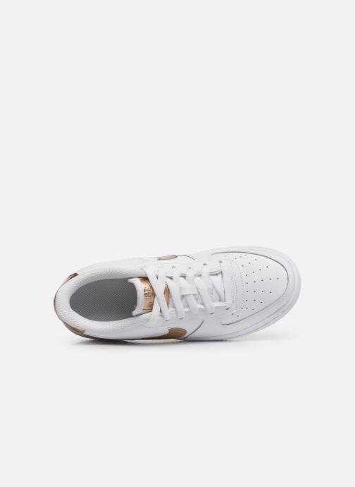 Baskets Nike Nike Air Force 1 Ep (Gs) Blanc vue gauche