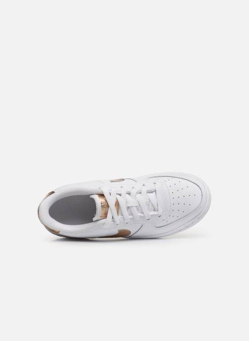 Baskets Nike Nike Air Force 1 Ep (Gs) Blanc vue gauche
