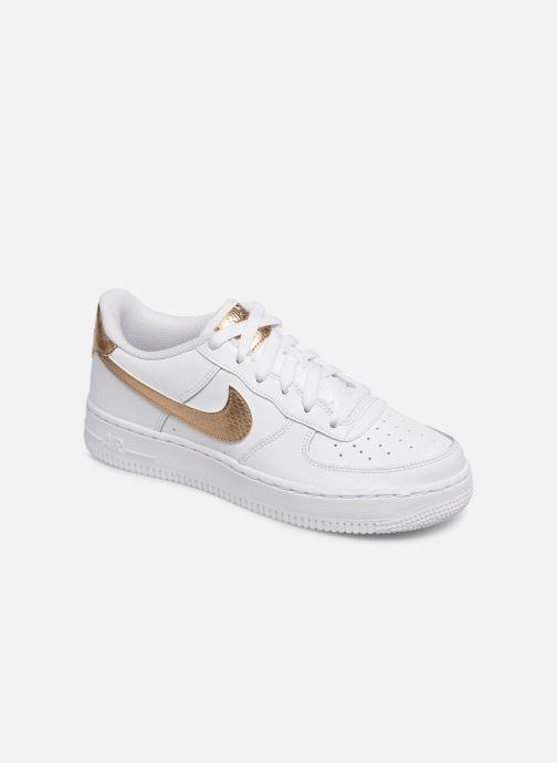 Baskets Nike Nike Air Force 1 Ep (Gs) Blanc vue détail/paire