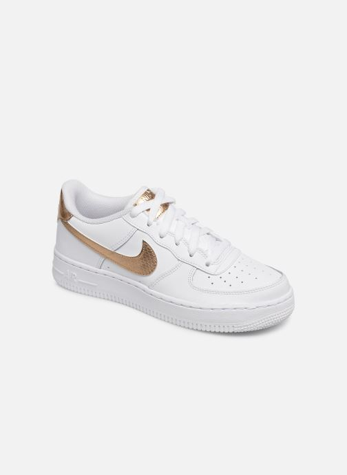 Baskets Nike Nike Air Force 1 Ep (Gs) Blanc vue détail/paire