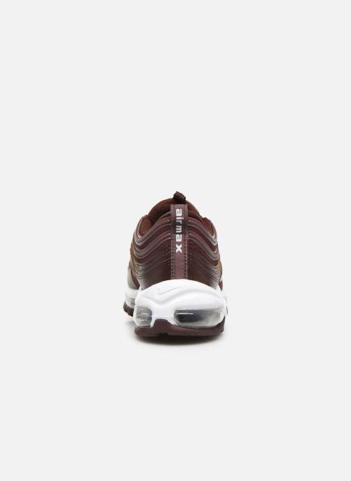 Baskets Nike Nike Air Max 97 Pe (Gs) Bordeaux vue droite