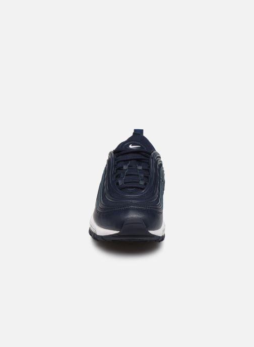 Sneaker Nike Nike Air Max 97 Pe (Gs) blau schuhe getragen
