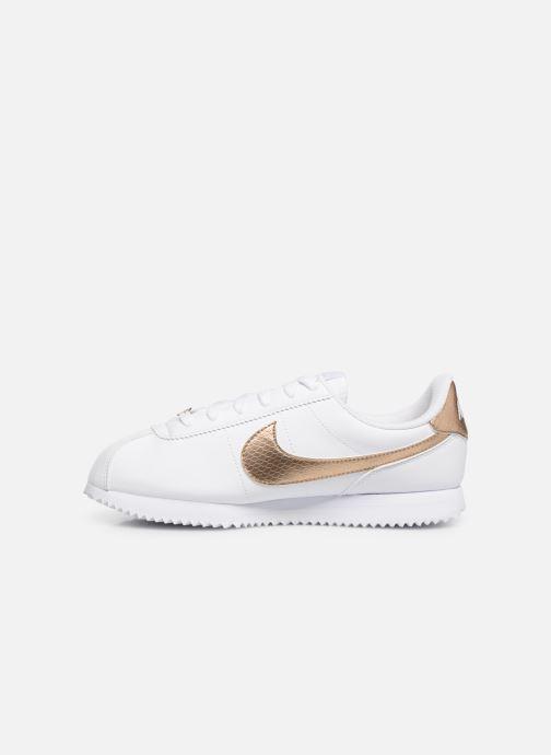 Sneaker Nike Nike Cortez Basic Sl Ep (Gs) weiß ansicht von vorne