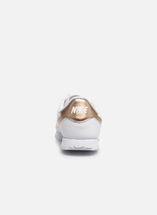 Sneaker Nike Nike Cortez Basic Sl Ep (Gs) weiß ansicht von rechts