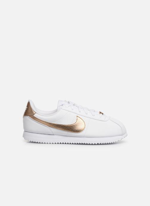 Sneaker Nike Nike Cortez Basic Sl Ep (Gs) weiß ansicht von hinten