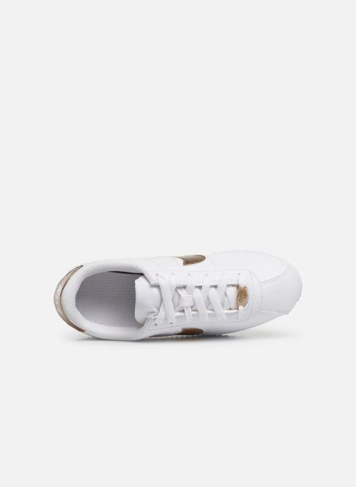 Sneaker Nike Nike Cortez Basic Sl Ep (Gs) weiß ansicht von links