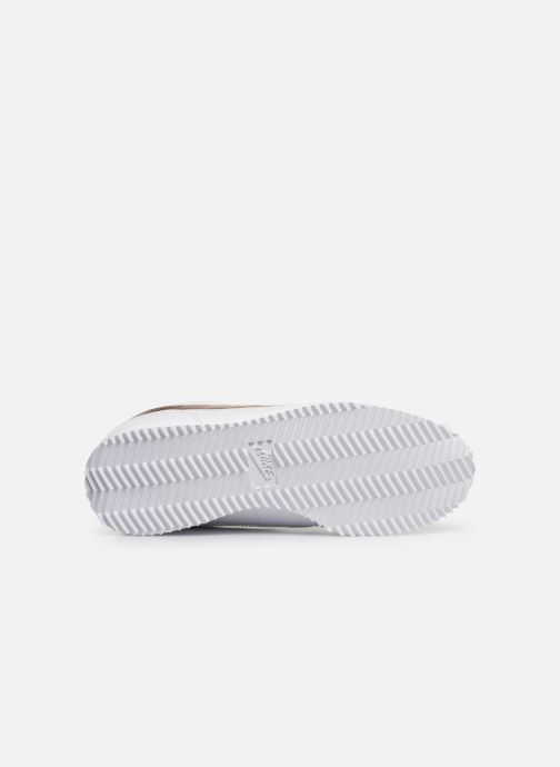 Sneaker Nike Nike Cortez Basic Sl Ep (Gs) weiß ansicht von oben