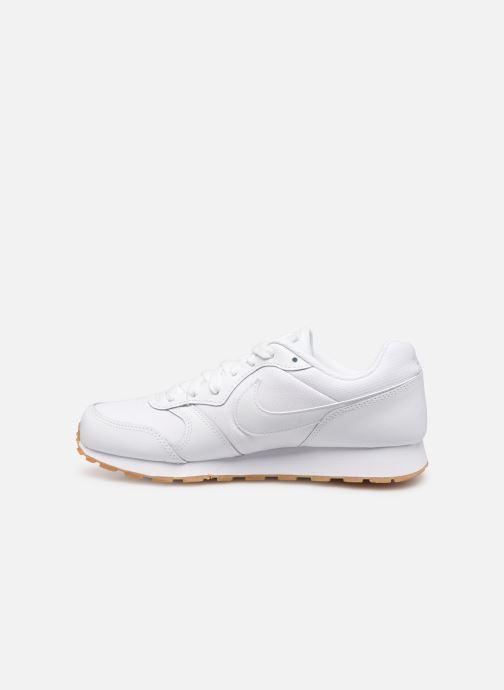 Sneaker Nike Nike Md Runner 2 Flrl (Gs) weiß ansicht von vorne