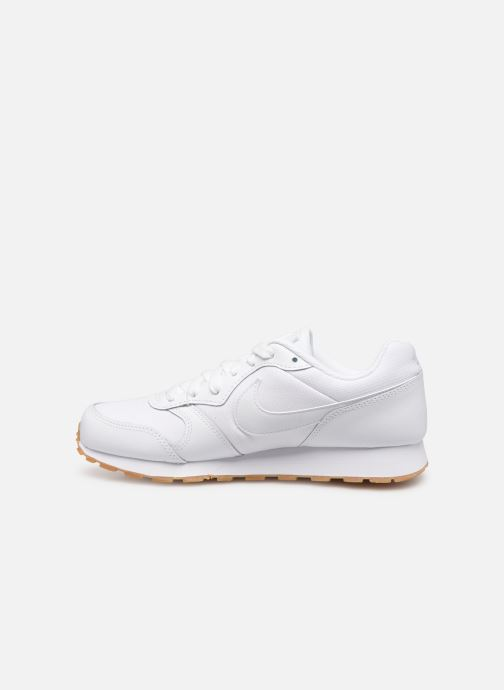 Sneakers Nike Nike Md Runner 2 Flrl (Gs) Wit voorkant