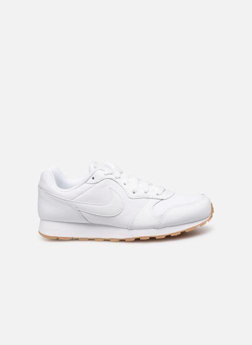 Sneaker Nike Nike Md Runner 2 Flrl (Gs) weiß ansicht von hinten