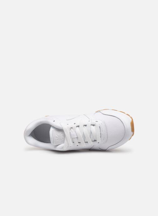 Sneaker Nike Nike Md Runner 2 Flrl (Gs) weiß ansicht von links