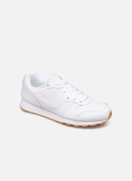 Deportivas Nike Nike Md Runner 2 Flrl (Gs) Blanco vista de detalle / par