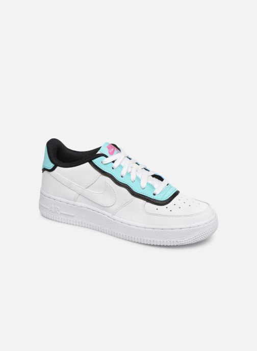 online store 2fb4b 99fd7 Baskets Nike Nike Air Force 1 Lv8 1 Dbl Gs Blanc vue détail paire