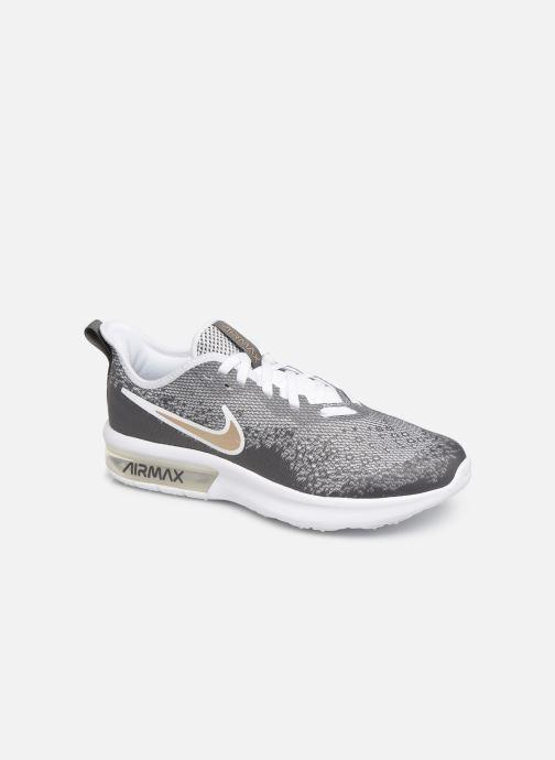 purchase cheap b8a25 0f947 Baskets Nike Nike Air Max Sequent 4 Ep (Gs) Gris vue détail paire