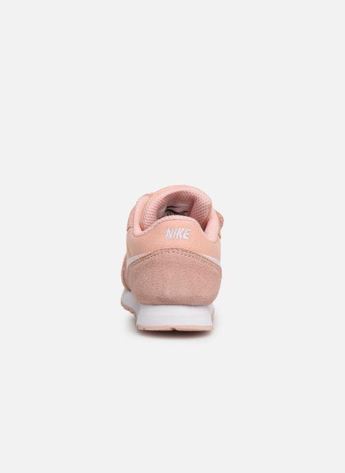 Baskets Nike Nike Md Runner 2 Pe (Tdv) Rose vue droite