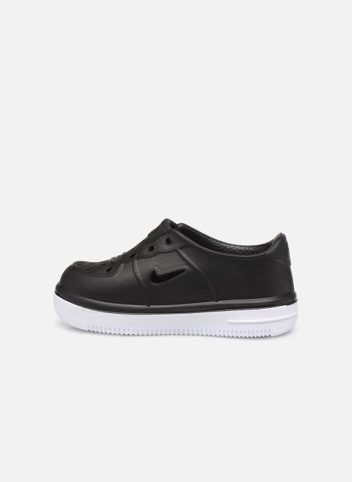 Sandales et nu-pieds Nike Nike Foam Force 1 (Td) Noir vue face