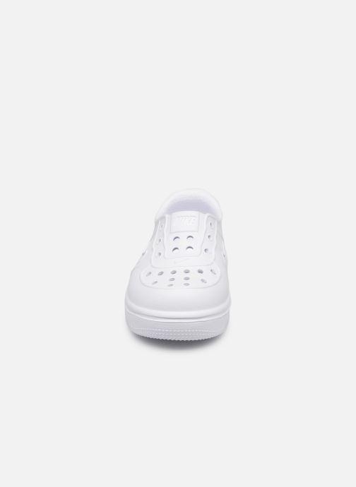 Sandales et nu-pieds Nike Nike Foam Force 1 (Td) Blanc vue portées chaussures