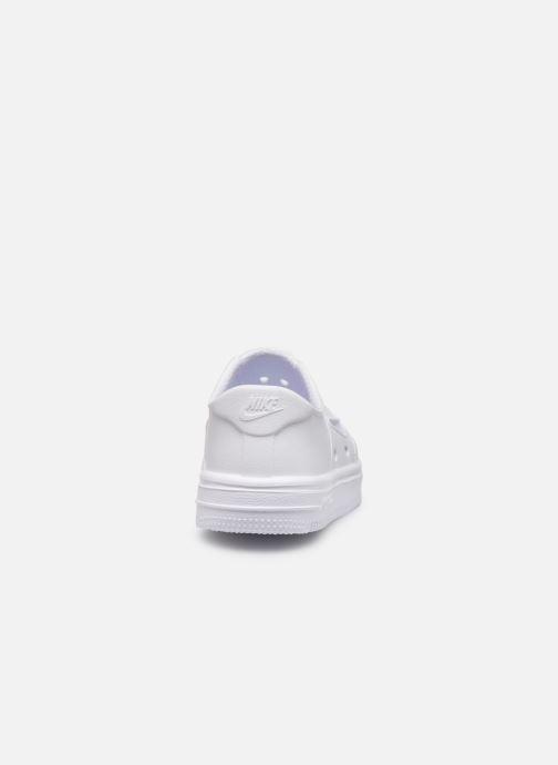 Sandalias Nike Nike Foam Force 1 (Td) Blanco vista lateral derecha